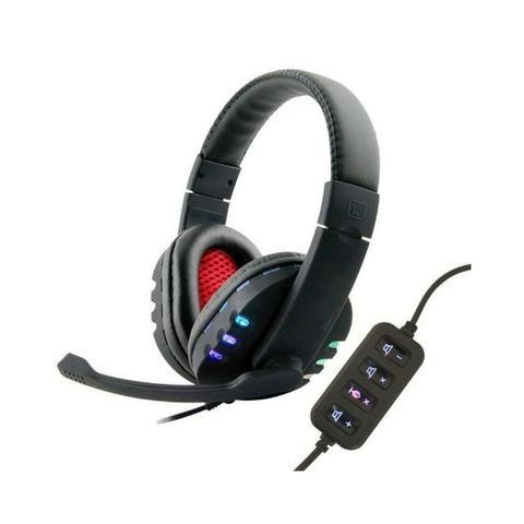 Fone Headset Headphone Gamer Ec-9700 Ecooda Usb 7.1 Stereo Microfone Volume Led - Foto 2