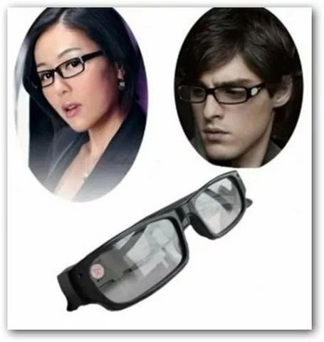Óculos Com Câmera Escondida Óculos Espião Full Hd 720p - Áudio, TV ... 91d7715c1c