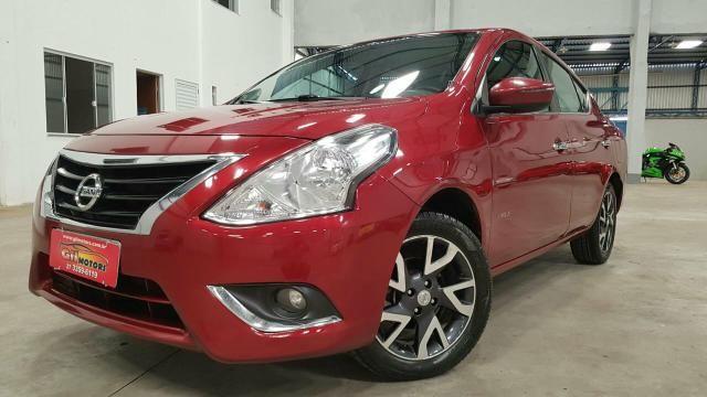 Nissan Versa 1.6 Flex MEC. 15/16 FINANCIAMENTO PELO CPF E PELO CNPJ