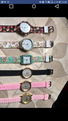 55c6ab8a00a Relógios masculino e feminino lindos