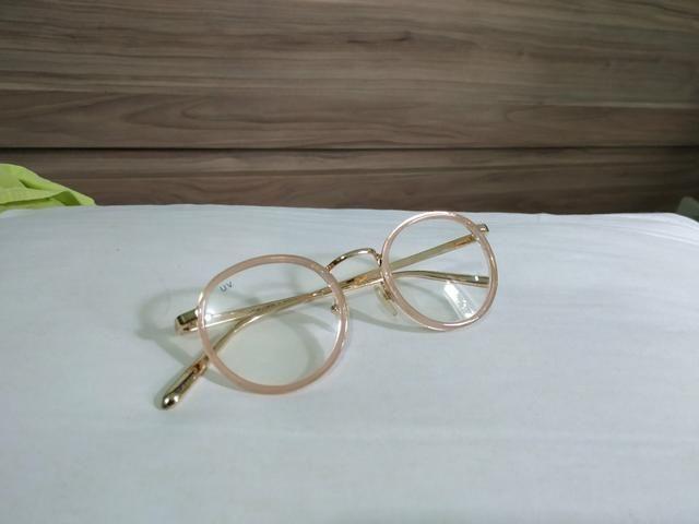 Óculos de grau rosa delicado dourado - Bijouterias, relógios e ... 160aadf87b