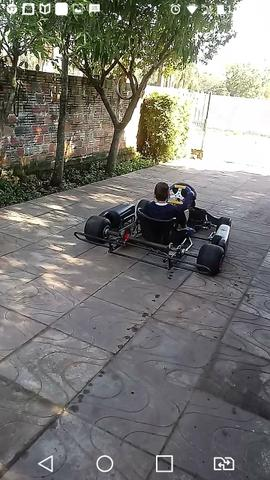Vendo Kart sem motor r$ 1500