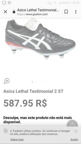 bce18f5168d76b Chuteira Asics lethal testimonial2 - Roupas e calçados - Salgado ...