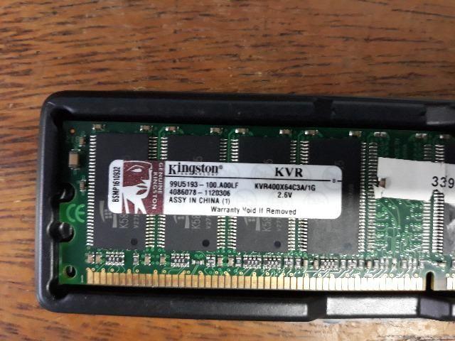Memória 1Gb DDR 400mhz