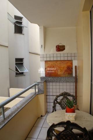 Apto venda 03D,sendo 01 suite+churrasqueira+garagem+03sacadas+ central - Foto 4