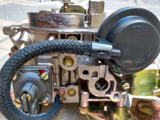Carburador 2E brosol Álcool zerado com mufla - Foto 3