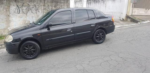 Clio Sedan 1.6 Completo Estudo Trocas - Foto 2