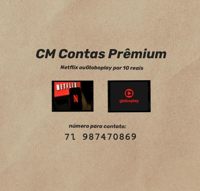 Alugo Netflix ou Globoplay - Foto 3