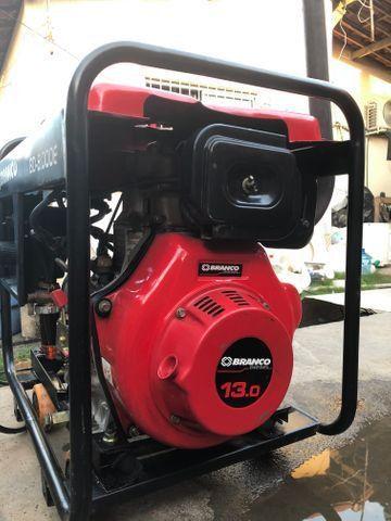 Gerador a Diesel injeção eletrônica de 8 KVA, partida elétrica - Foto 4