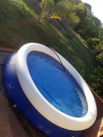 Vendo piscina 2.074 litros