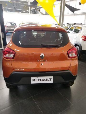 Nv Renault Kwid Zen 1.0 12v sce Flex 20/21 - Foto 4