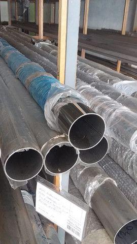 Chapas, barras, tubos de aço inox  - Foto 3