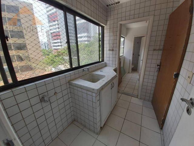 Apartamento com 4 quartos para alugar, 170 m² por R$ 6.000/mês com taxas- Boa Viagem - Rec - Foto 14
