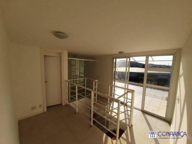 Cobertura com 2 dormitórios para alugar, 147 m² por R$ 2.200,00/mês - Campo Grande - Rio d - Foto 15