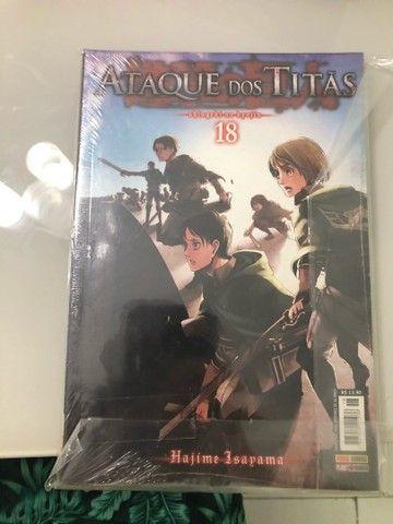 Ataque dos titãs volume 18 lacrado mangá (Shingeki no kyojin, attack on titan) - Foto 2