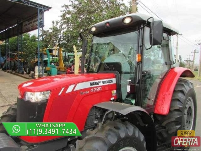Trator Massey Ferguson 4290 4x4 ano 17 - Foto 3