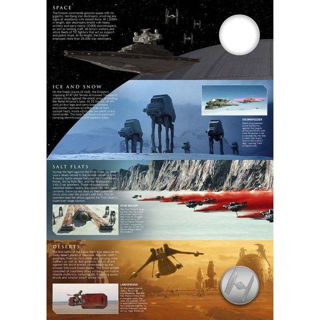 Star Wars: Medalha Uma Galáxia De Veículos Edição Limitada - Foto 3