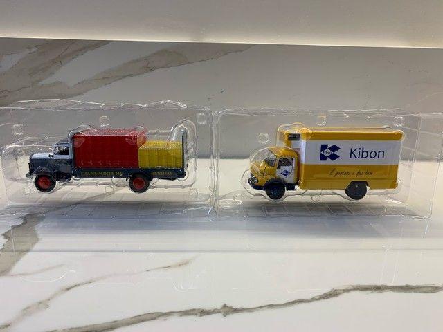 Miniaturas Coleção caminhões do Brasil - Foto 5