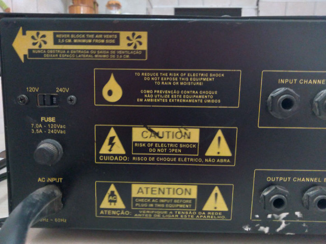 Módulo Mark Áudio MK 4000 Turbo - Foto 6