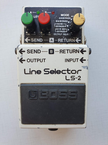 Pedal Pedal Boss Line Selector Ls-2 (loop, Aby, Power Supply) - Foto 5