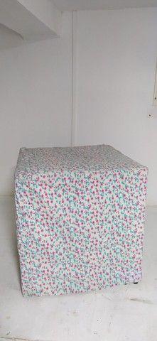 3 Capas de puff + cortina provador liberty - Foto 2