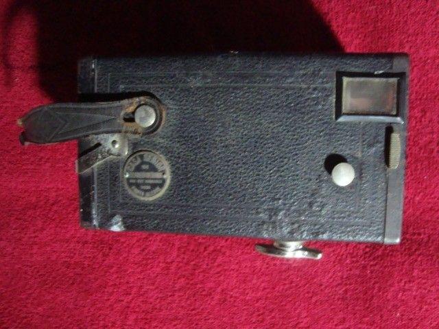 Máquina Fotográfica Antiga Marca Agfa - Rara - Foto 4