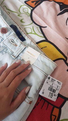 Calça jeans Pantacourt nunca usada