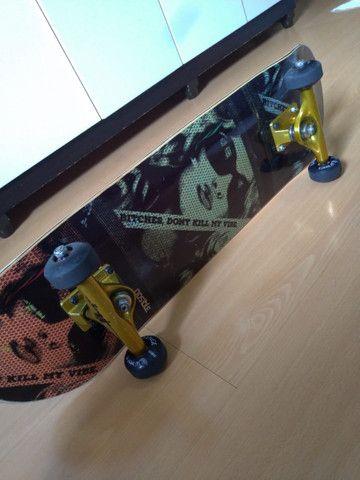 Vendo skate montado pouco usado - Foto 2