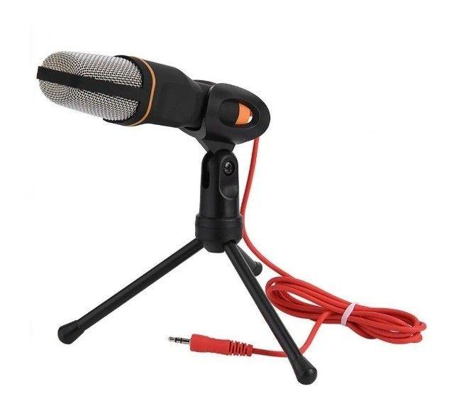Microfone Condenser SF-666 Preto - Foto 5