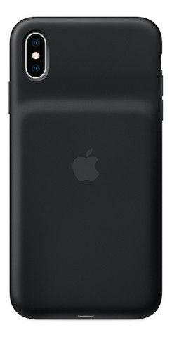 Capa Smart Battery Case Para iPhone XS Max Preta + Brindes