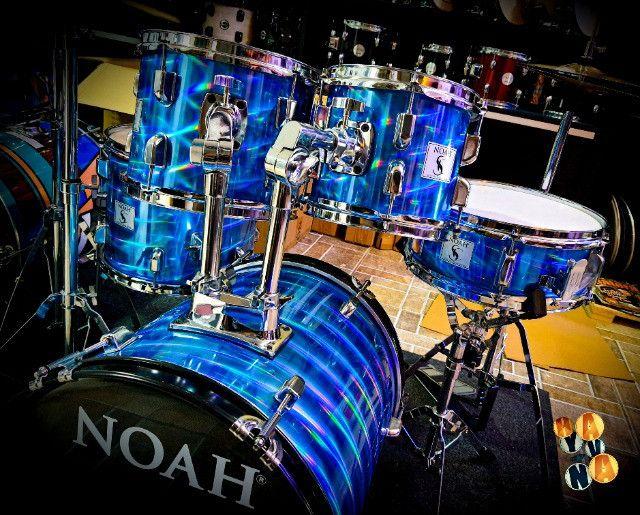 Bateria Noah Blue Wave, Nova, Parcelo Sem Juros!! - Foto 2