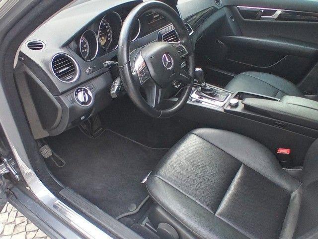 Mercedes Benz c180 2012 cgi(turbo)Blindada n3a+aut/tip+toplinha+couro+absurdamente nova!!! - Foto 13