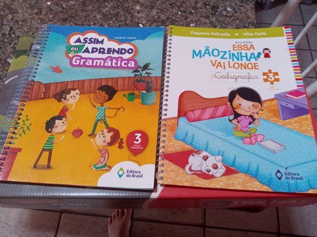 Livros didáticos infantil 3 ano
