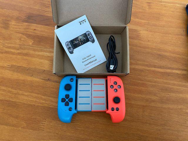 Joystick Gamepad STK7007F Controle para celular NOVO - Foto 4
