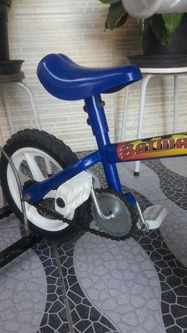 Bicicleta aro 12 impecável - Foto 3