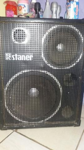 Caixa de som amplificada top