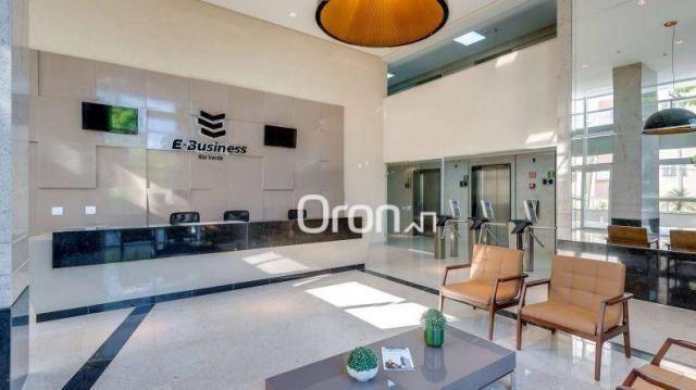 Sala à venda, 101 m² por r$ 676.000,00 - vila são tomaz - aparecida de goiânia/go - Foto 4