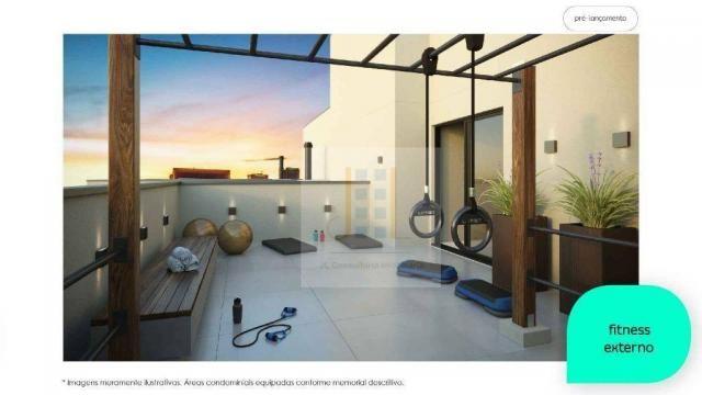 Apartamento com 2 dormitórios à venda, 48 m² - Cidade Industrial - Curitiba/PR - Foto 6