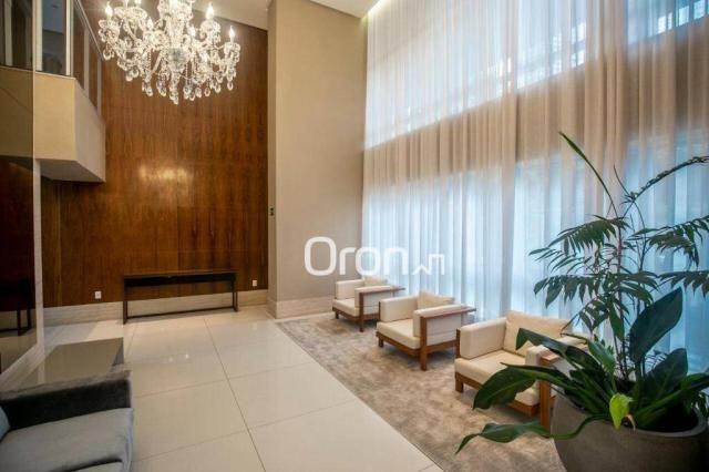 Apartamento com 4 dormitórios à venda, 271 m² por r$ 2.213.000,00 - jardim goiás - goiânia - Foto 3