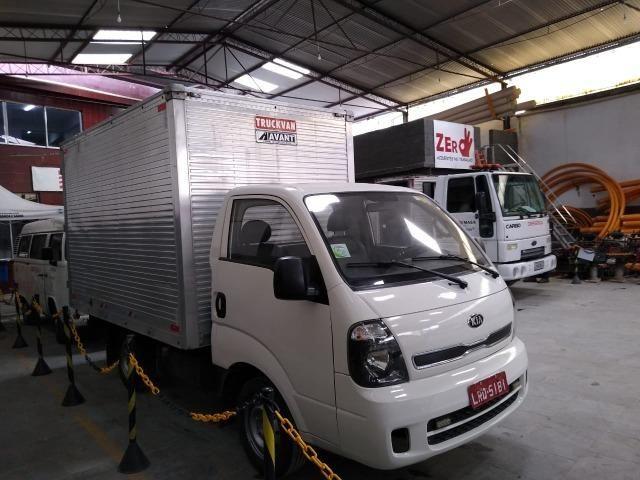 Kia Bongo UK2500 2015 - Diesel c/ Baú - Foto 6