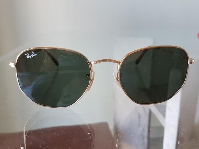 Óculos Rayban Hexagonal - Bijouterias, relógios e acessórios ... 19512f21fa