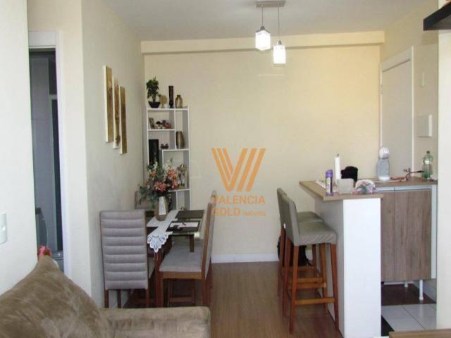 Apartamento com 3 dormitórios à venda, 64 m² por R$ 315.000,00 - Cajuru - Curitiba/PR - Foto 4