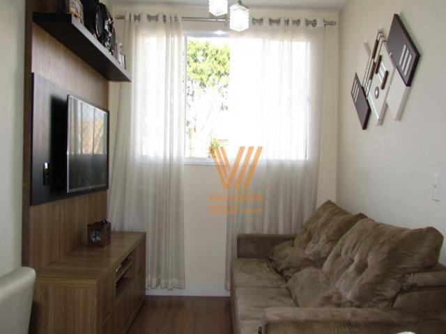 Apartamento com 3 dormitórios à venda, 64 m² por R$ 315.000,00 - Cajuru - Curitiba/PR - Foto 2