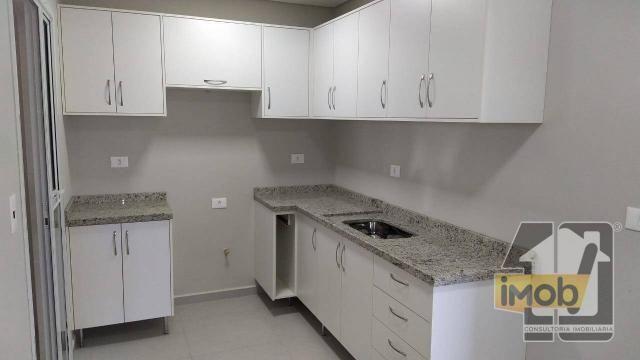 Apartamento com 3 dormitórios para alugar, 101 m² por R$ 2.500,00/mês - Residencial Omoiru - Foto 7