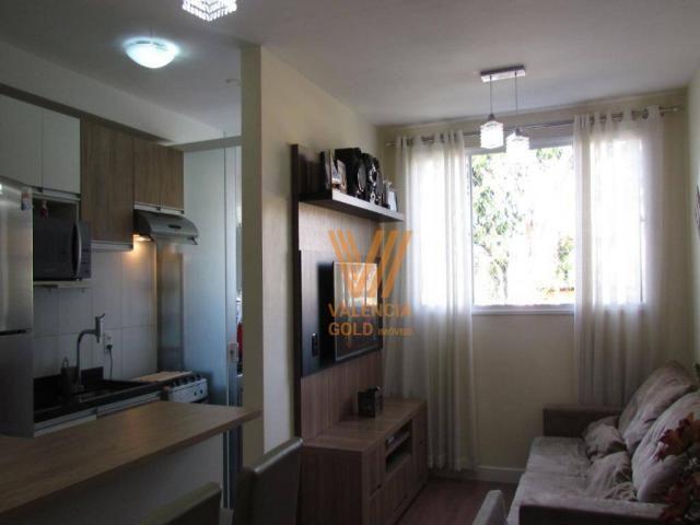 Apartamento com 3 dormitórios à venda, 64 m² por R$ 315.000,00 - Cajuru - Curitiba/PR - Foto 5