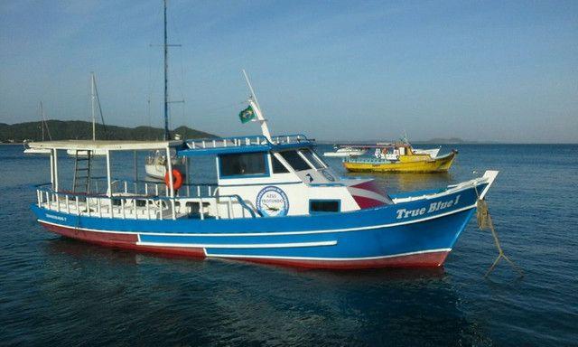 Traineira de mergulho, passeio ou pesca - Foto 6