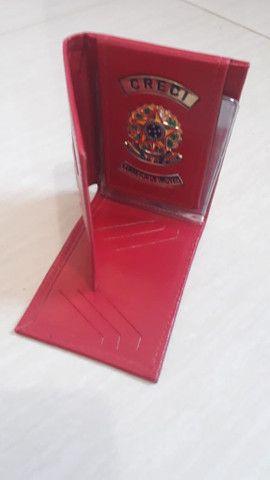 Carteira em couro para Corretor de Imóveis - Foto 2