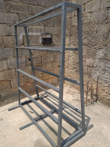 Cavalete para transporte de vidro