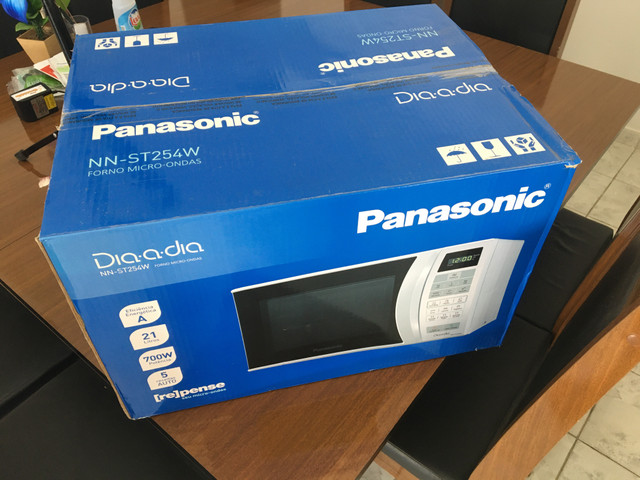 Microondas Panasonic 21L na caixa lacrado