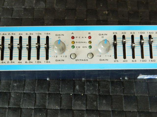 Equalizador Oneal Oge 1520 15 Bandas Stereo Bivolt - Foto 5